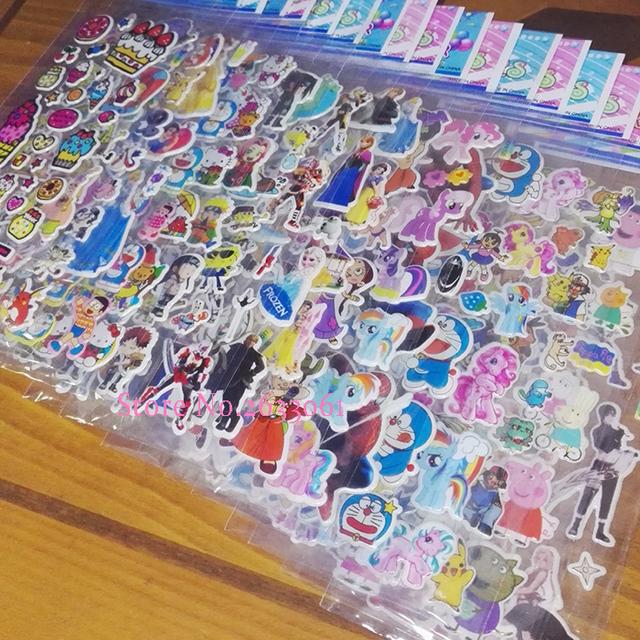 3D Sticker 50 Sheets/lot