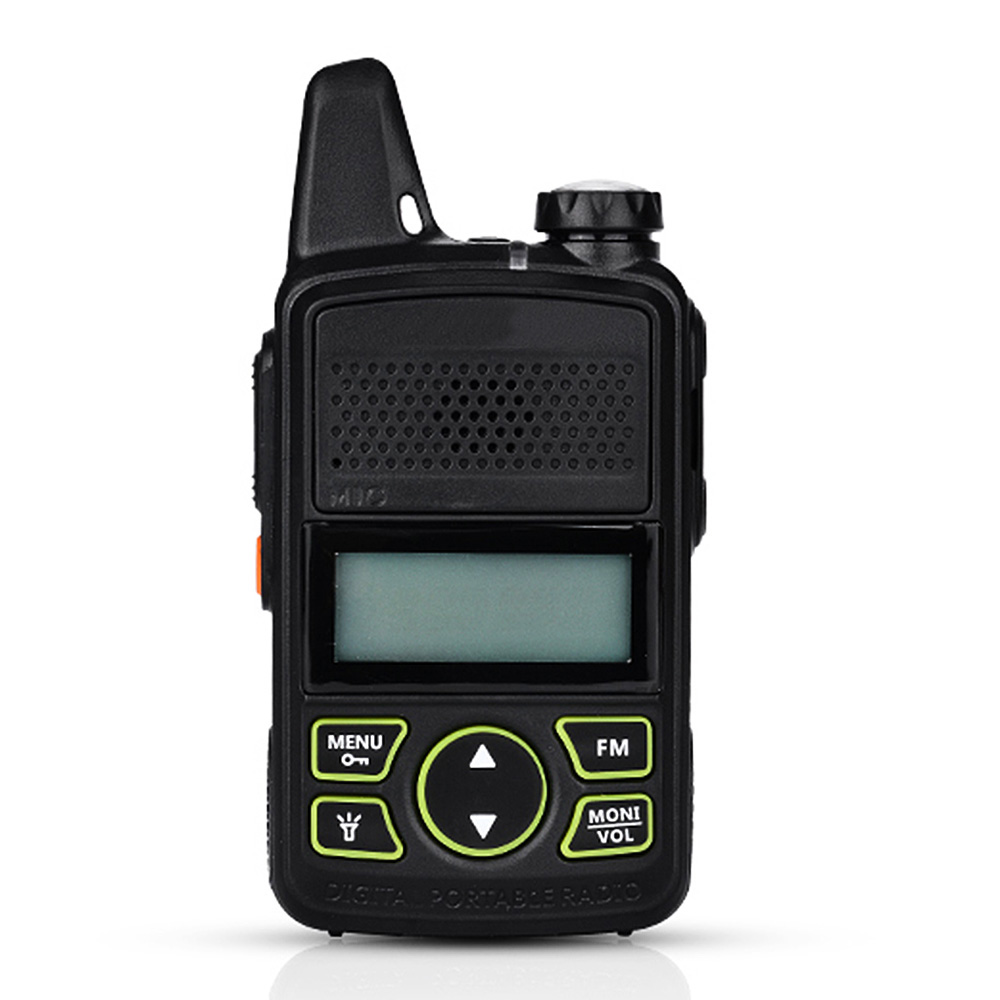 100% MINI Kids Walkie Talkie UHF Portable Two Way Radio FM Function Ham T1 Walkie Talkie USB HF Transceiver