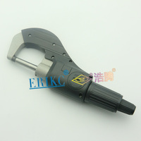 ERIKC Injector tools shims testing Micrometer for diesel injector adjusting gasket
