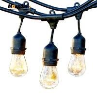 7M15M LED string lights Festival Illuminazione Commerciale Intemperie Giorno 2 W S14E26E27 Lampadine A LED Indoor Outdoor Nuovo Anno Di Natale