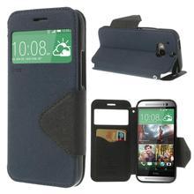 2014 новый для HTC One m8 рев корея дневник вид чехол кожаный чехол для HTC OneM8 10 цветов бесплатная доставка
