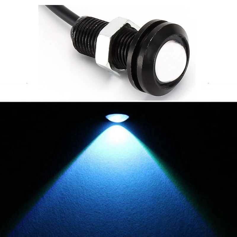 1 Piece 18mm Waterproof Eagle Eye LED DRL Daytime Running Light Car styling Lights Brake Backup Reversing Parking Signal Lamp