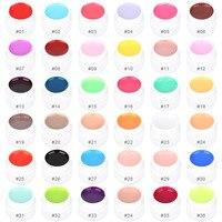 Gustala 36 Màu Sắc Tinh Khiết Gel Polish Chậu Bling Bìa UV Nail Gel Công Cụ Art Mẹo Extension Làm Móng Cho Cô Gái