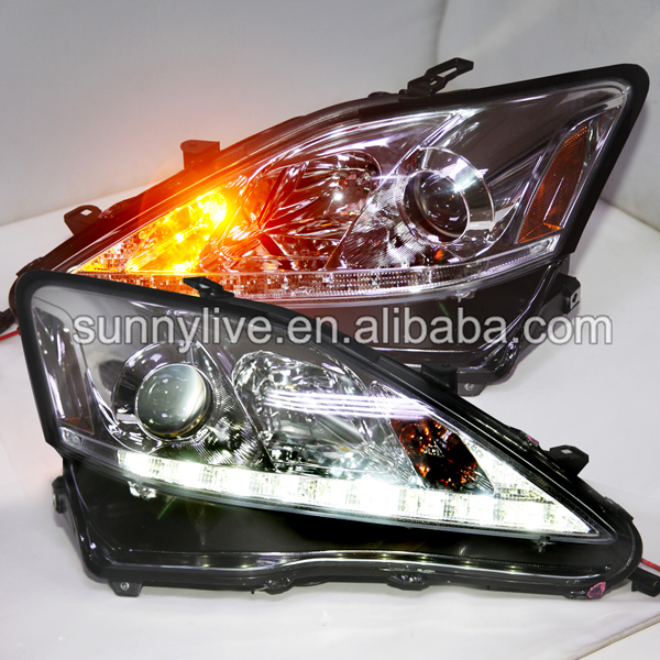 Lexus Is300 For Sale: For Lexus IS250 IS350 IS300 LED Head Lamps With Projector