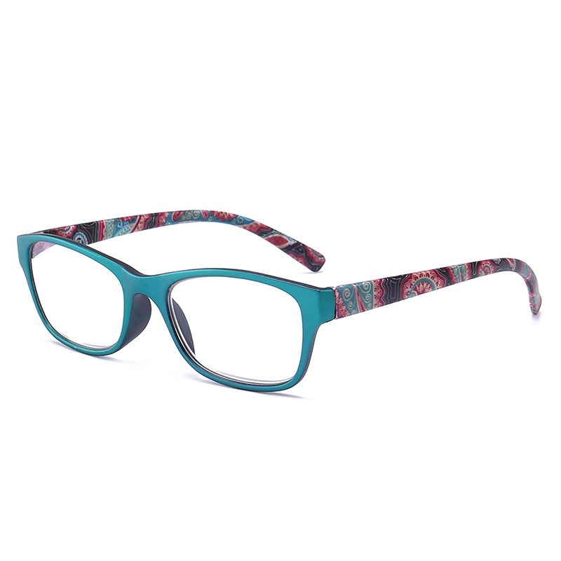 JN IMPRESSION High quality fashion color reading glasses womens ultra - light anti-fatigue glasses magnifying glass T18966 ...