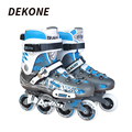 Professional Inline Skates High Cuff Durable PU Wheel Aluminum Alloy Frame For Roller Inline Hockey Man Roller Hockey Skate