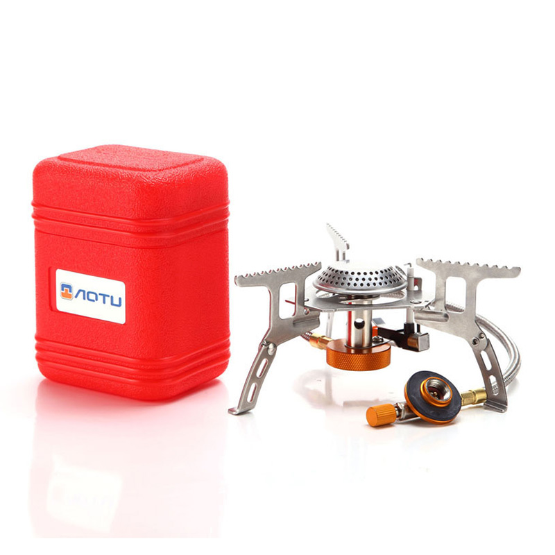 Portable Split Type Gas Stove Picnic Furnace Outdoor Camping Cooking TB Sale