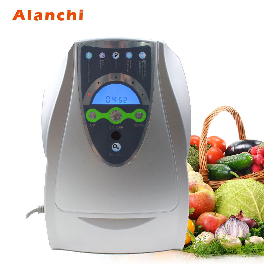 Ozone Generator 220V 500mg/H Sterilizer Air purifier Purification Fruit Vegetables Water Food Preparation Ozonator cold corona discharge ozonator 6000mg h for air purification