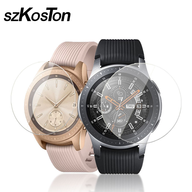 f5463aa65 1 2 5 PCSTempered Glass for Samsung Galaxy Watch 46 mm Screen Protector  Film for Samsung Watch Smart watch Glass Protective Film