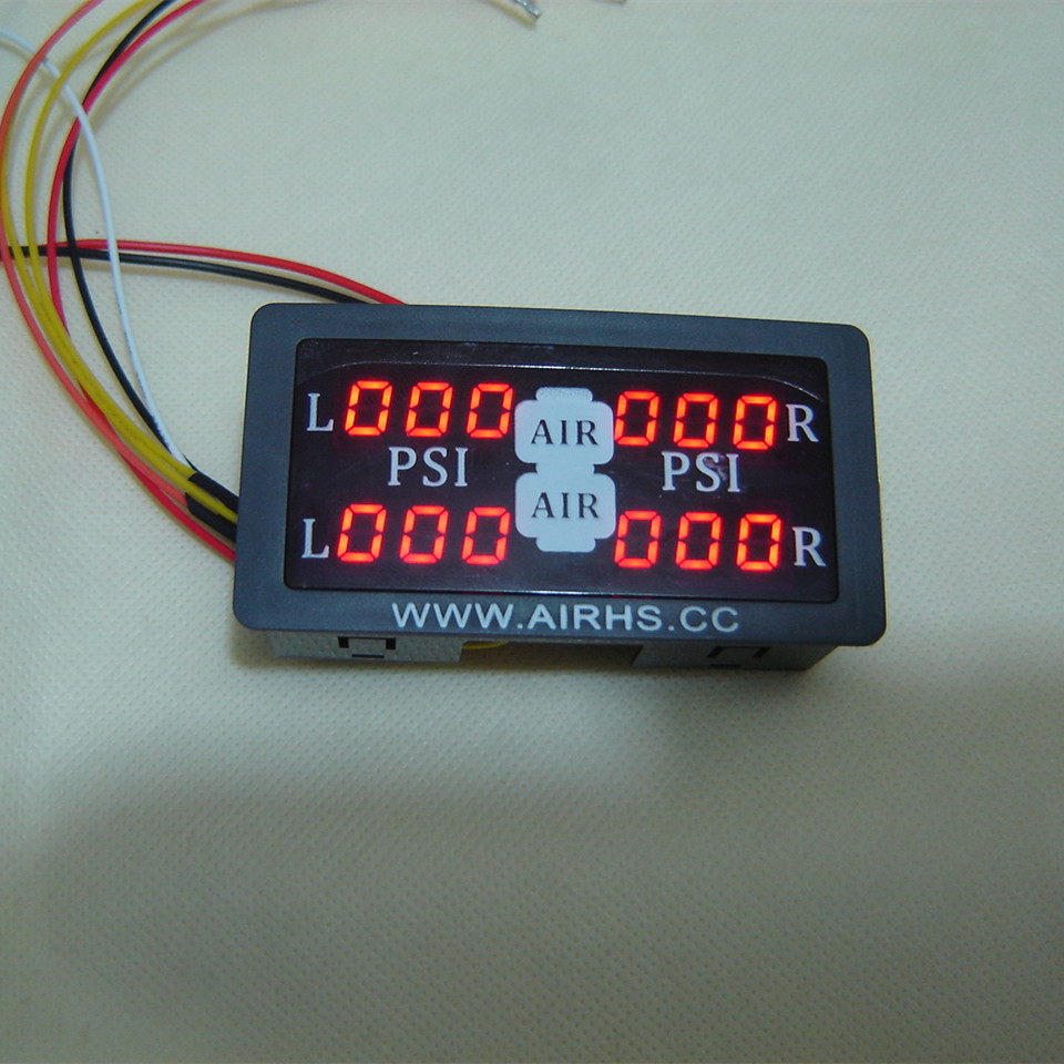Customized 4 sets of pressure display table