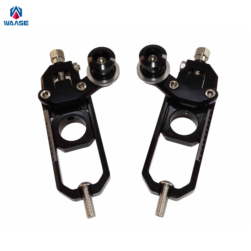 waase Motorcycle Chain Adjusters with Spool Tensioners Catena For Honda CBR1000RR 2008 2009 2010 2011 2012 2013 2014 2015 2016 for honda cbr600rr 2007 2008 2009 2010 2011 2012 motorbike seat cover cbr 600 rr motorcycle red fairing rear sear cowl cover