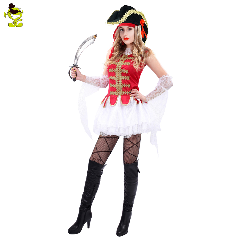 Adult Caribbean Pirate Costumes Womens Pirate Uniform Halloween Cosplay Fancy Outfits Costume-in Holidays Costumes from Novelty u0026 Special Use on ...  sc 1 st  AliExpress.com & Adult Caribbean Pirate Costumes Womens Pirate Uniform Halloween ...
