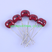 10pcs 5mm Guitar Amp Silver MICA Capacitor 510pF 500V Radial For Audio