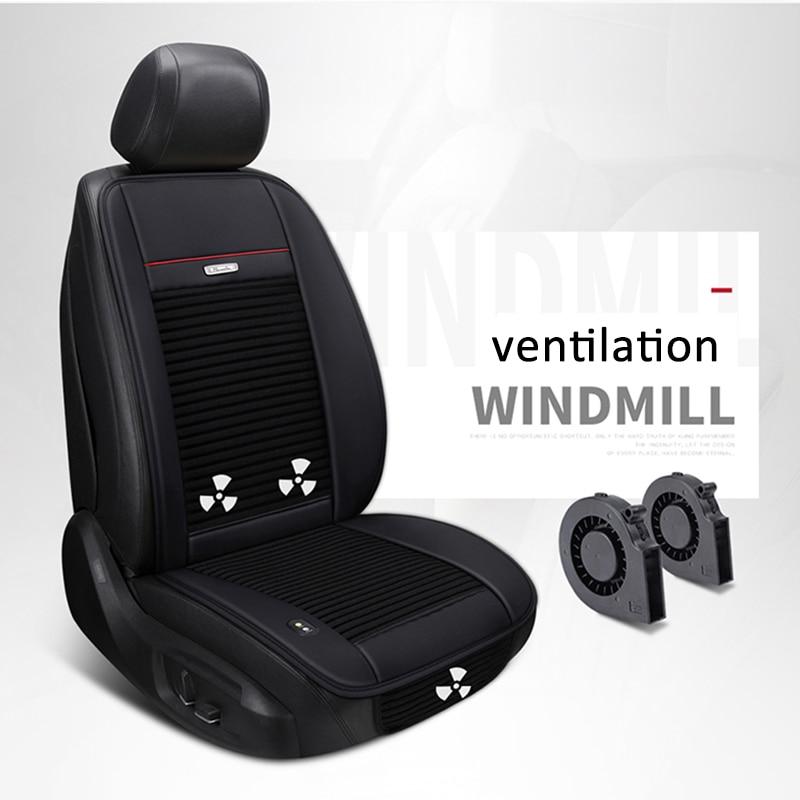 Summer Built In Fan Cushion Air Circulation Ventilation Car Seat Cover For Honda Accord Civic CRV