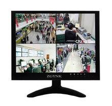 10 pulgadas de metal shell BNC interfaz HDMI VGA AV monitor hd pantalla LCD monitores de ordenador