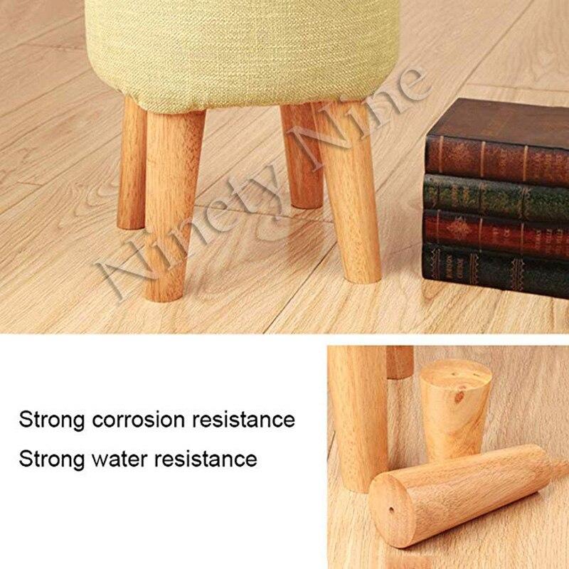 Image 5 - 4 Uds. De alto 6/8/10/12/15/18/20/25/30cm patas de muebles patas de apoyo sofá cama de madera maciza/mueble de Tv/MESA de café-in Patas del mueble from Muebles on AliExpress