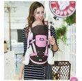Новый Дизайн детские Рюкзаки наиболее популярных рюкзаков и кенгуру Слинг Малышей обернуть девушки frount кенгуру с плеч