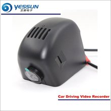 YESSUN Car Front Camera For Audi A3 2016 DVR Driving Video Recorder AUTO Dash CAM Head Up Plug OEM 1080P WIFI yessun car dvr driving video recorder for bmw x5 e53 e70 f15 front camera auto dash cam head up plug