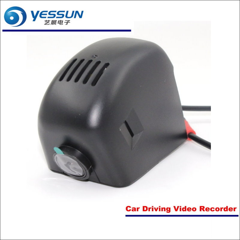 YESSUN Car Front Camera For Audi A3 2016 DVR Driving Video Recorder Black Box Dash Cam Head Up Plug OEM 1080P WIFI for mazda 6 car dvr driving video recorder mini control app wifi camera black box registrator dash cam night vision