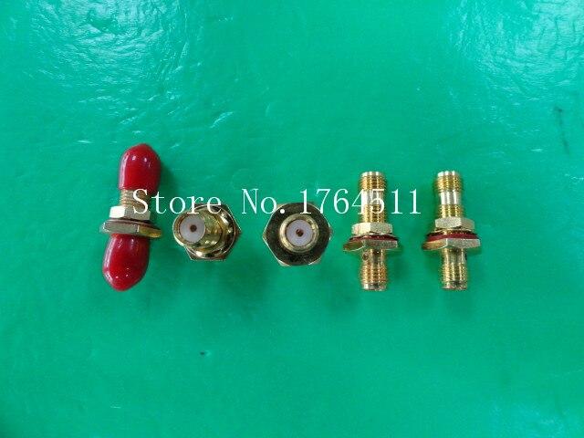 [BELLA] Import Chaiji Original Gold Plated SMA-K/K RF Converter  --10PCS/LOT