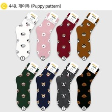 Harajuku Japanese cute Cartoon socks women Cotton funny  Kawai animal dog Cute short sox skarpetki calcetines