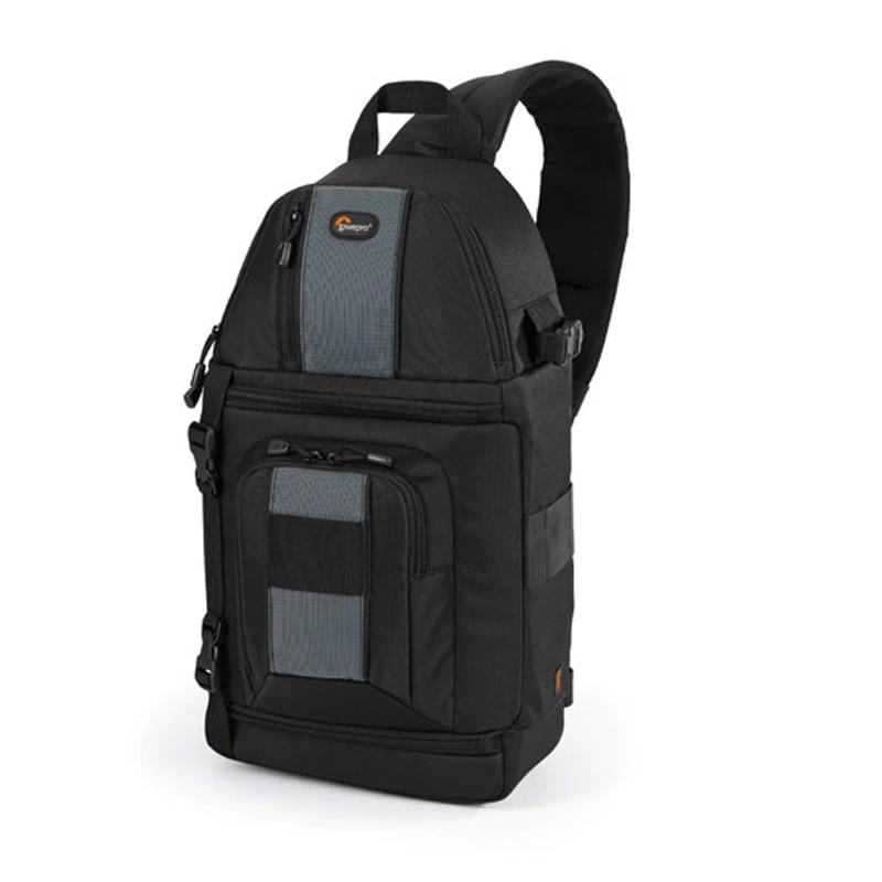 Подлинная Lowepro SlingShot 202 AW DSLR Камеры Фотография Laptop Bag Рюкзак Рюкзак со всеми + Weather Cover