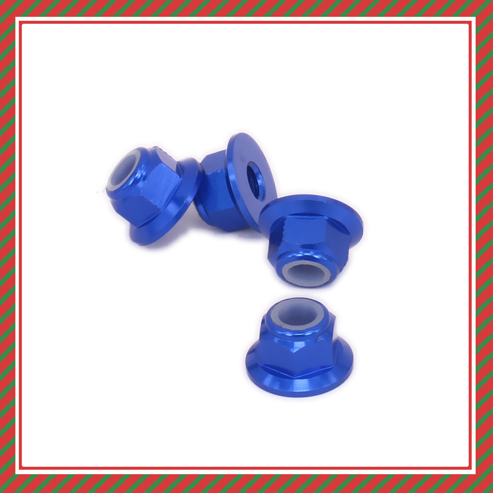 Alloy M4 4mm <font><b>Wheel</b></font> Hex Lock Nut For <font><b>Rc</b></font> Hobby Car <font><b>1/12</b></font> Wltoys L959 L969 L979 L202 L212 L222 K959 959-65 Rock-Climber Crawler image