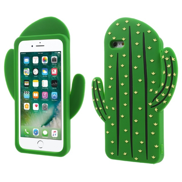 best service 2fbfb d3589 US $4.99 |Dulcii iPhone6sPlus Vivid 3D Prickly Pear Cactus Soft Silicone  Case for iPhone 6s Plus 5.5