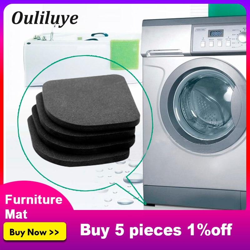 8PCS Washing Machine Anti-shock Pad Anti-Vibration Non-Slip Rubber Leg For Refrigerator Chair Desk Feet Mats Furniture Legs Mat