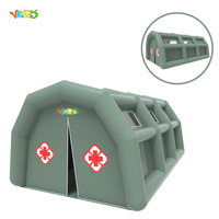 New Gray Color Inflatable Hospital Tent for Outdoor Used