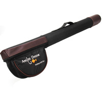Triangle Cordura Tube 65 77cm Brown And Black Fly Fishing Rod Case Rod Tube