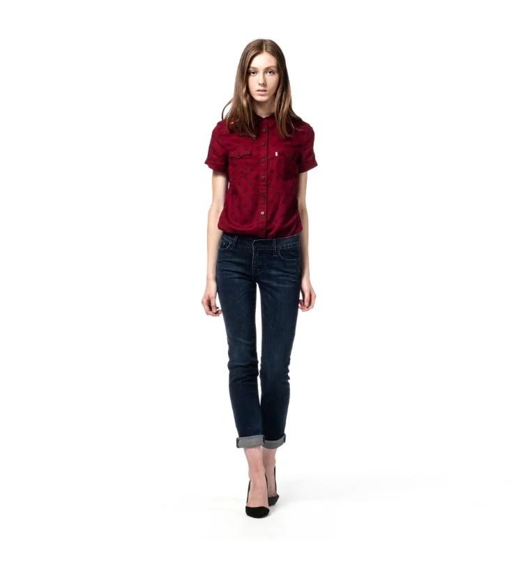 New Shelves Ladies Jeans Blue Leisure Elasticity Skinny Women Pencil Pants Casual Jeans