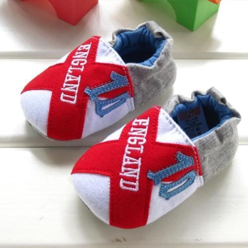 Otoño zapatos del niño para hombre primer caminante del bebé suela blanda antideslizante bebé de algodón hecho a 0-1 años de edad