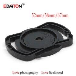 100PCS/lot Camera Lens Cap keeper 52mm 58mm 67mm Universal Lens Cap Camera Buckle Lens Cap Holder Keeper