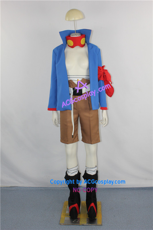 Tengen Toppa Gurren Lagann Simon Cosplay Costume