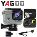 Gopro hero 4 estilo yagoo8 4 К wi-fi камера esporte 170 graus де largura да lente Capacete Cam ик pro камеры subaquatica де