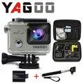 Gopro hero 4 estilo yagoo8 4 k wi fi camera esporte 170 graus de largura da lente Capacete Cam ir pro camera subaquatica de