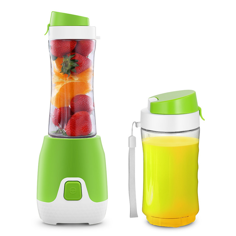 Juicers Juice cup household mini portable electric juice cup. jiqi household portable 2 cup juicers mini electric automatic juicing machine 300w power for juicing mixing stirring