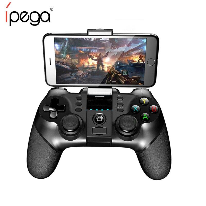 IPEGA PG-9077 Juego Mini Joystick inalámbrico para teléfono móvil Joypad para Android Teléfono Tablet PC Android Tv Box