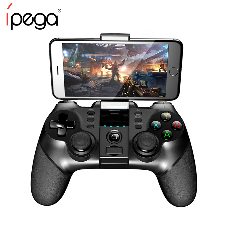 iPEGA PG-9077 Mini Joypad Wireless Joystick for Phone Game Controller for Android/ IOS Phone Tablet PC Android Tv Box