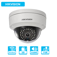 HiKvision DS 2CD2142FWD IW 4mm Wifi Camera 4MP IR Dome Network POE IP camera onvif Wireless Security camera