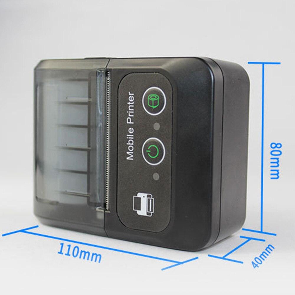 Imprimante d'étiquettes thermiques Bluetooth BT QR Code autocollant imprimantes d'étiquettes de codes à barres offre spéciale - 6