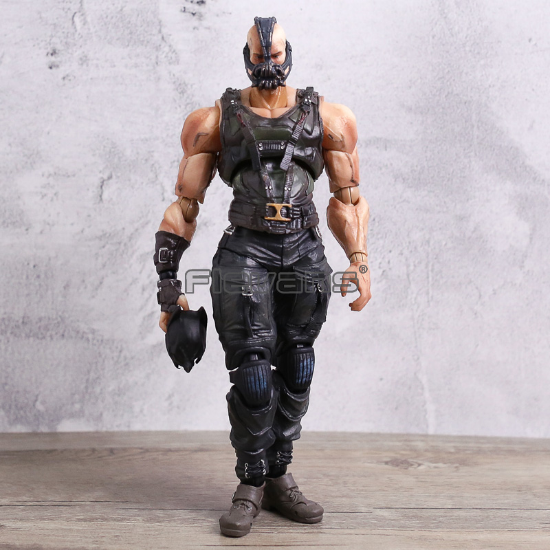 Play Arts Kai NO.02 Bane Variant Batman The Dark Knight Rises PVC Action Figure Model Toy Collection Gift free shipping superhero batman the dark knight rises pvc action figure toy 8 20cm
