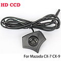 Night Vision Waterproof HD CCD Car Front Camera Fit For Mazda Logo Front Camera Mazda 2 3 5 6 8 CX-7 CX-9