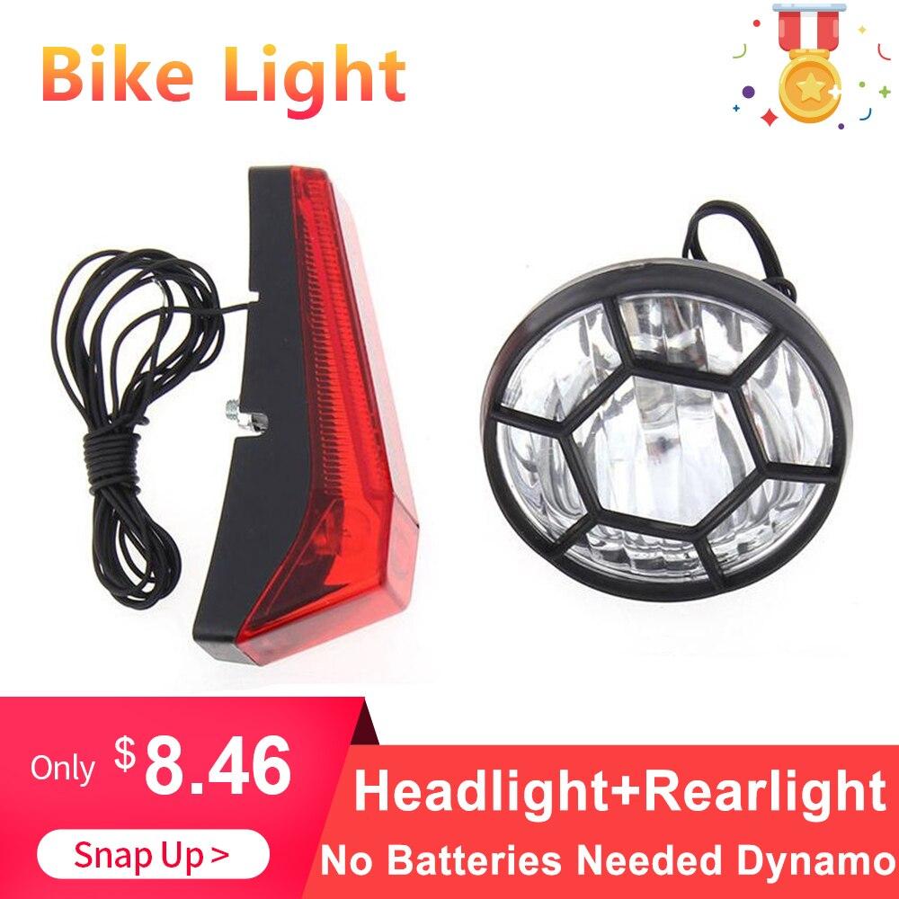 5ea99a750 Cheap Juego de luces de dínamo de Bicicleta de seguridad para ciclismo No  se necesitan pilas