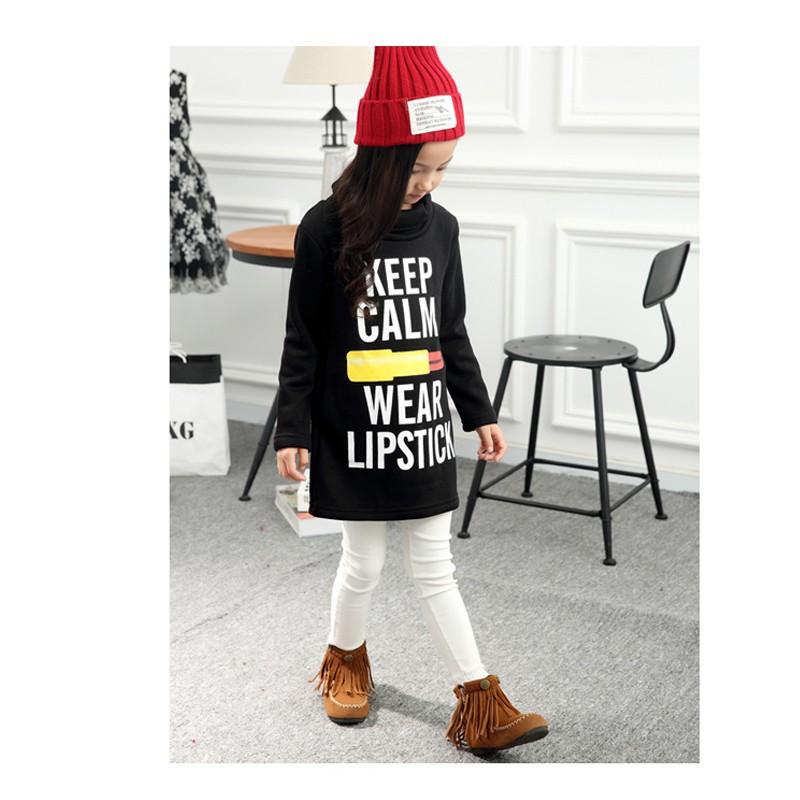 Girls Long T-shirts Dresses 01 (6)