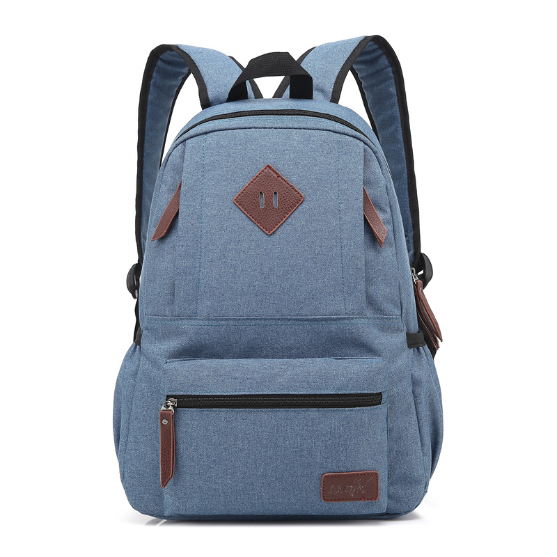 School Bags for Teenagers Fashion Laptop Backpack Women Canvas Bags Men Oxford Travel Leisure Backpacks Retro Casual Bag School