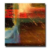 100%手描きの有名な油絵高品質現代抽象colours絵画wll画像用リビングルーム絵画
