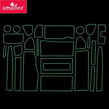 Smabee слот для ворот Накладка для NISSAN SERENA C26 2010-2016 аксессуары для интерьера коврик чашка дверь паз Matr белый/синий/красный