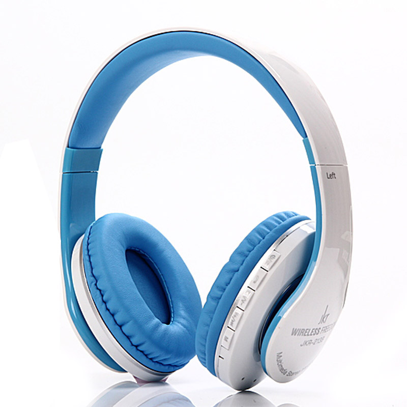 JKR 213B Bluetooth Headphone With Mic. TF Card Auriculares Stereo Bass Over Ear Headphones HIFI Music Headset For Xiaomi PC MP3 rock y10 stereo headphone earphone microphone stereo bass wired headset for music computer game with mic